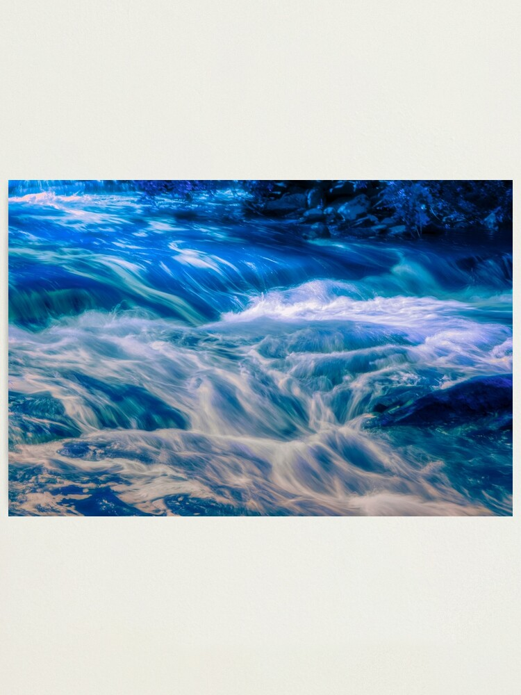 Alternate view of Sarah's Flow Photographic Print