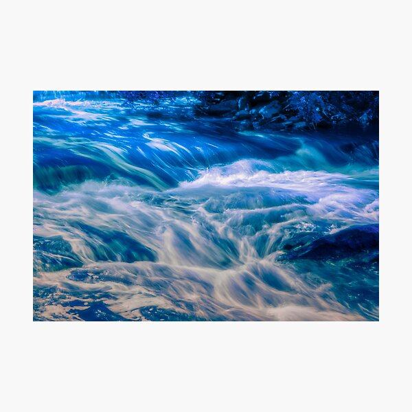 El flujo de Sarah Lámina fotográfica