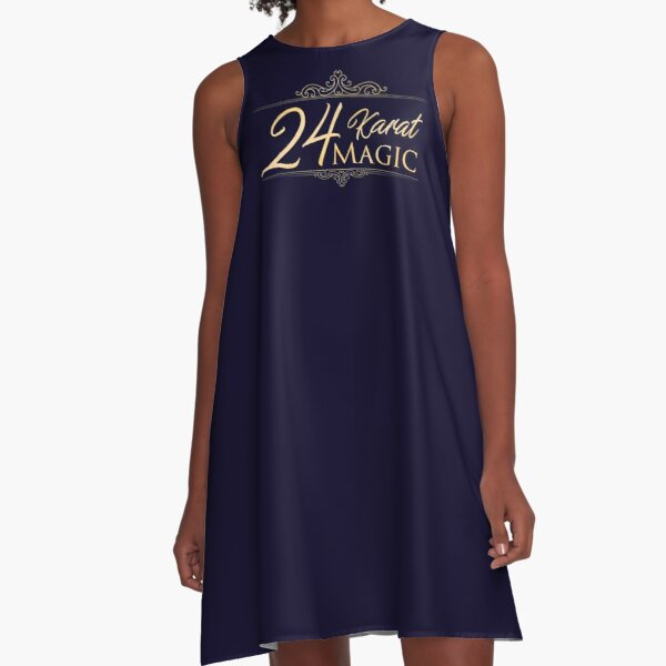 24 Karat Magic A-Line Dress