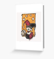 Hello puddin' Greeting Card