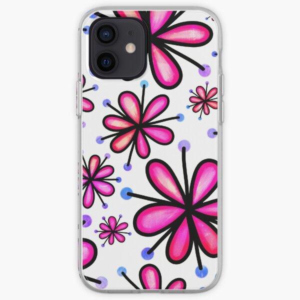 Daisies  Doodles iPhone Soft Case