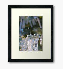 ice... Framed Print