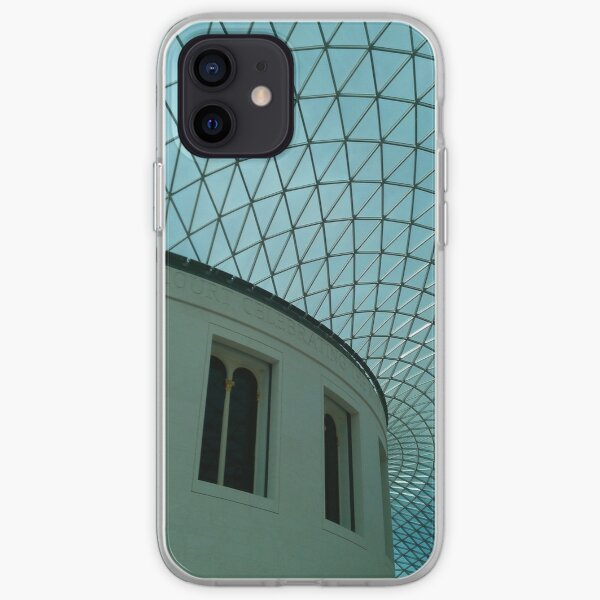 British Museum, Glass Roof iPhone Soft Case