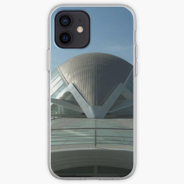 Valencia Hemisfèric 3D IMAX Print iPhone Soft Case