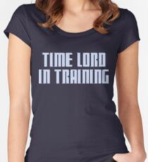 Time Lord in Training Women's Fitted Scoop T-Shirt
