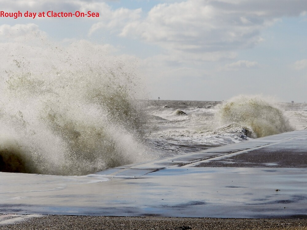 Rough day at Clacton by TOFFS