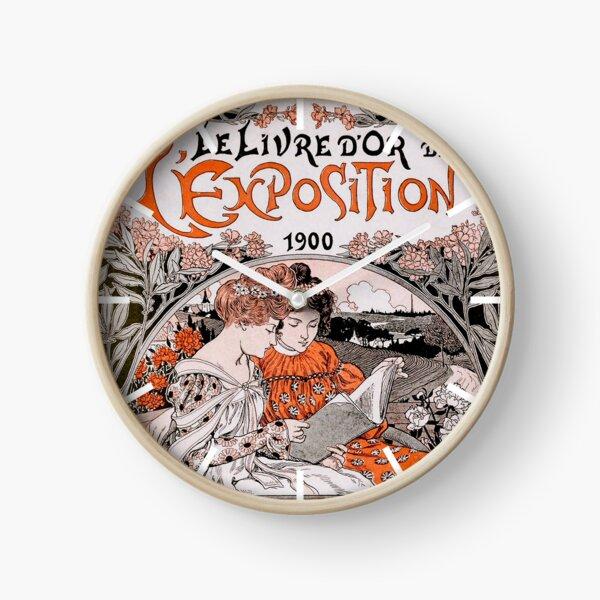 Le Livre D'Or de L'Exposition 1900 (The Gold Book of the 1900 Exhibition) Clock
