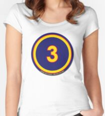 #3 - Daniel Ricciardo (Red Bull Racing) Women's Fitted Scoop T-Shirt