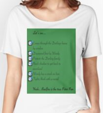 Whose the real Peter Pan Women's Relaxed Fit T-Shirt