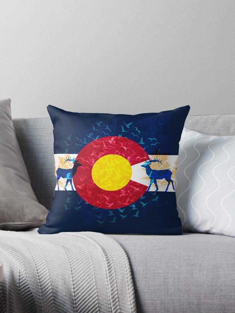 Colorado flag nature scenery art by artisticattitud