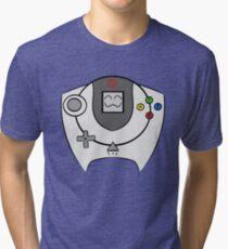 SEGA HAPPY DREAMCAST Tri-blend T-Shirt