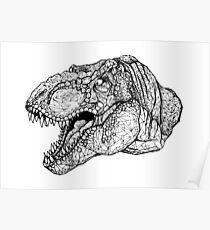Tyrannosaurus Poster