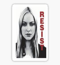 Resist fringe tribute Sticker
