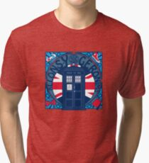 Allons-y, Geronimo ! Tri-blend T-Shirt