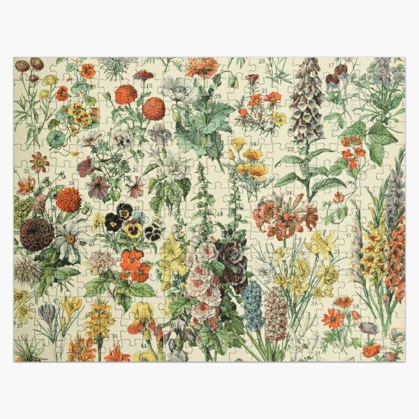Adolphe Millot Fleurs A Jigsaw Puzzle