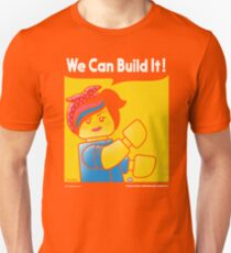 WE CAN BUILD IT! Unisex T-Shirt