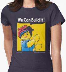 WE CAN BUILD IT! Tailliertes T-Shirt für Frauen
