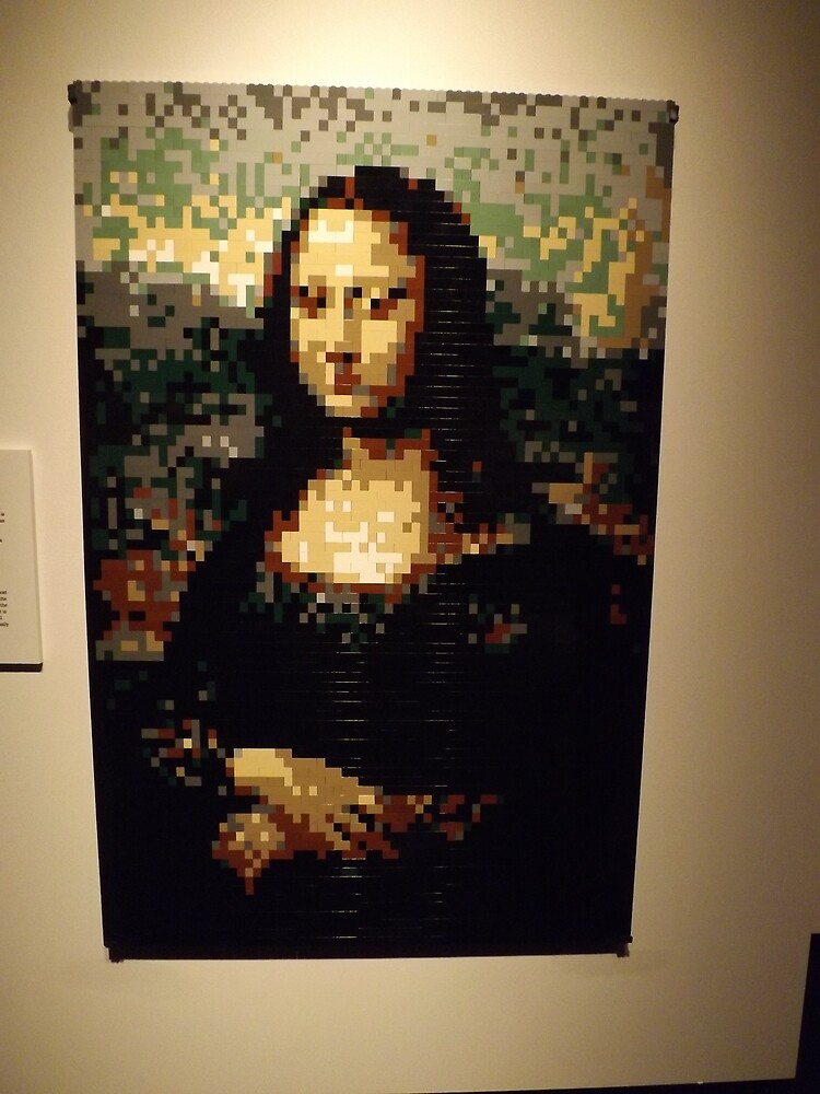 Quot Lego Mona Lisa Art Of The Brick Exhibition Nathan