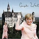 Angela and the castle of Neuschwanstein  by Dulcina