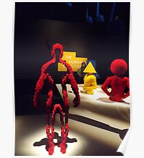 Lego Sculpture, Art of the Brick Exhibition, Nathan Sawaya, Artist, Discovery Times Square, New York City Poster