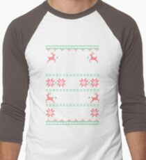 Merry Christmas Ya Filthy Animal Men's Baseball ¾ T-Shirt
