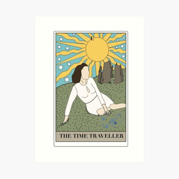 the time traveller Art Print