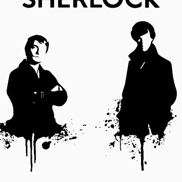 Sherlock in Black and White by drjohnwatson