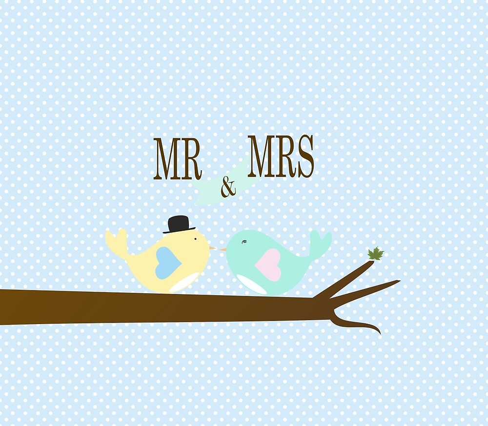 Mr and Mrs Birds by liveindetails