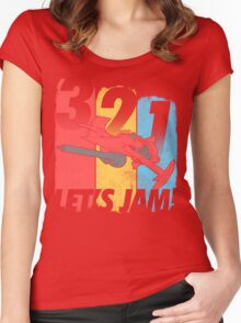 Let's Jam! (Ver. 2) Women's Fitted Scoop T-Shirt