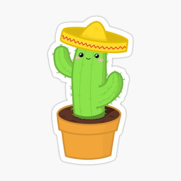 Mexi-Cactus! Sticker