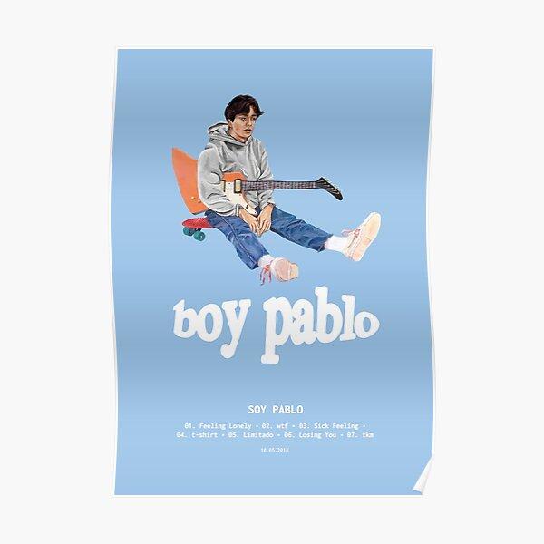 Boy Pablo - Soy Pablo (2018) Music Album Cover Poster