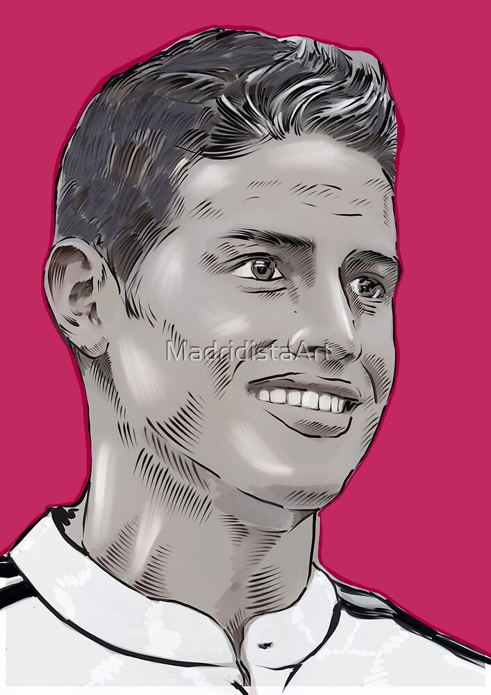 James Rodriguez by MadridistaArt