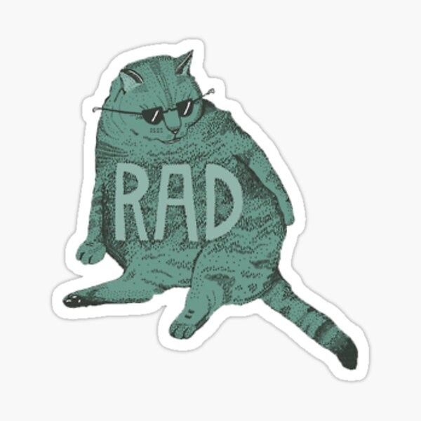 Rad Cad Sticker