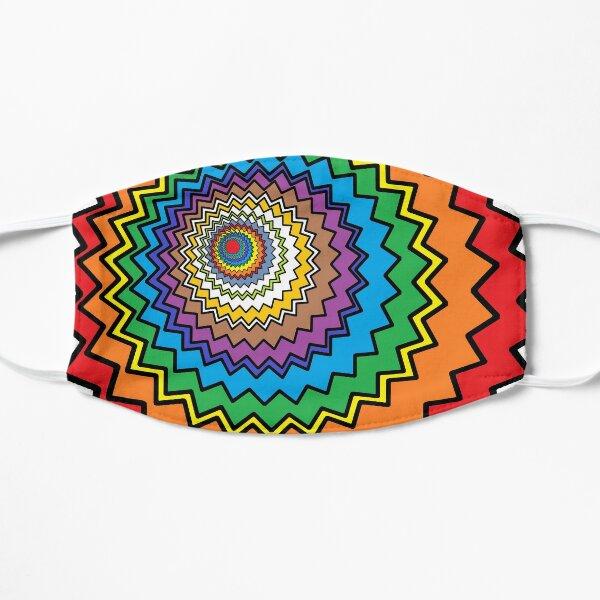 Multicolor Star Flat Mask