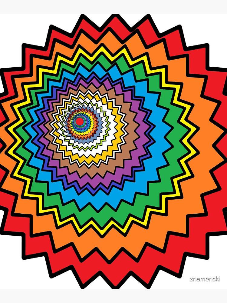 Multicolor Star by znamenski