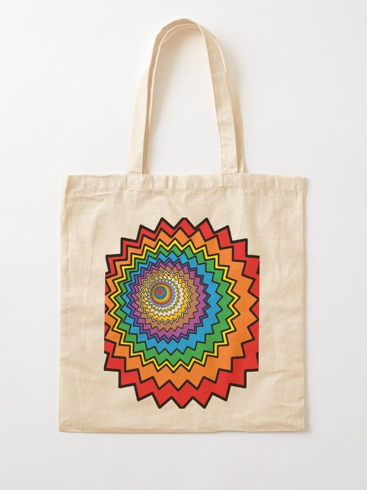Alternate view of Multicolor Star Tote Bag