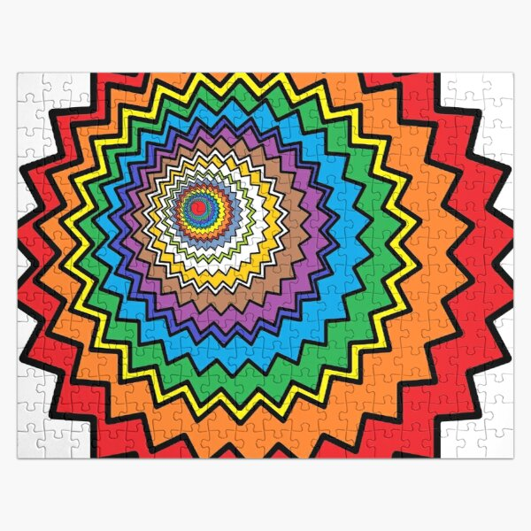 Multicolor Star Jigsaw Puzzle