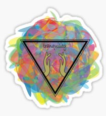 Tranquility  Sticker