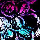 cyan ink top by sebmcnulty