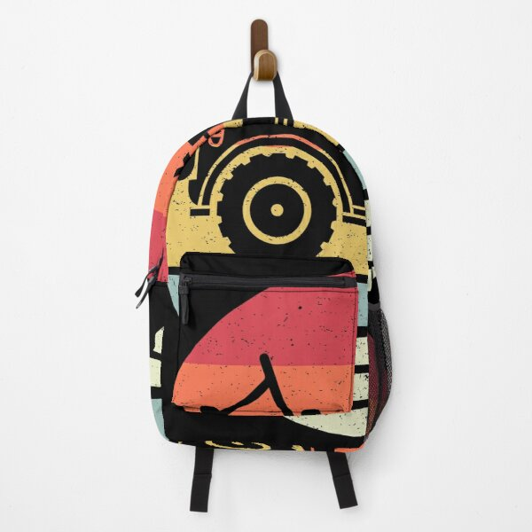 Retro Style 4X4 Backpack