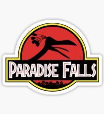 Paradise Falls Sticker