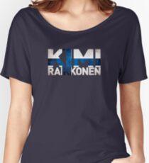 Kimi Raikkonen - Finnish Flag Women's Relaxed Fit T-Shirt