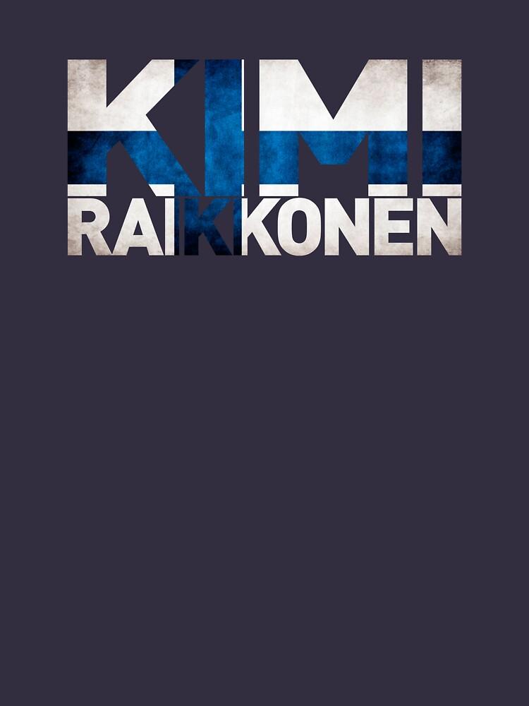 Kimi Raikkonen - Finnish Flag | Long Sleeve