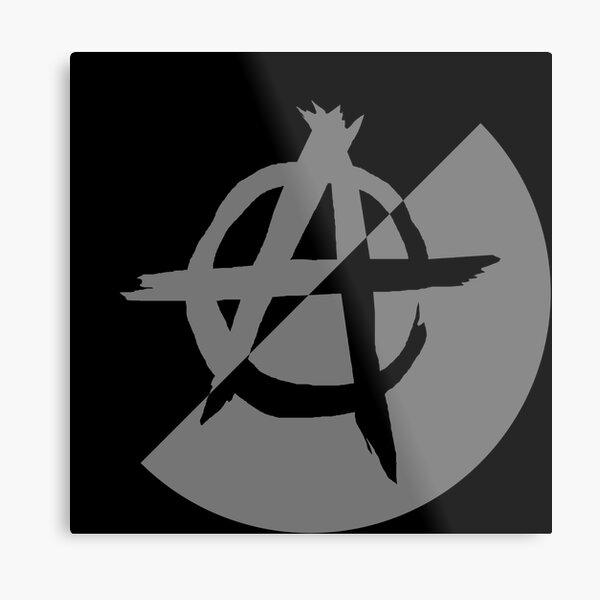 Anarcho Nationalism Metal Print