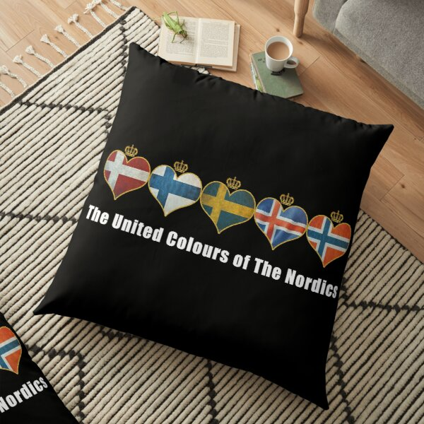 The United Colours of The Nordics Floor Pillow