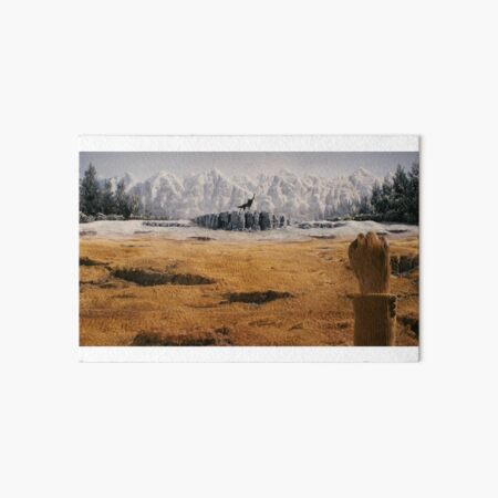 Canis Lupus Art Board Print