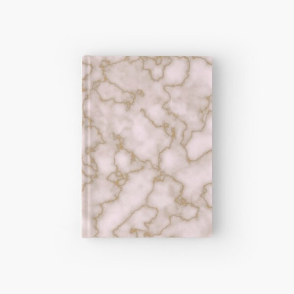 Rose Gold Marble Hardcover Journal