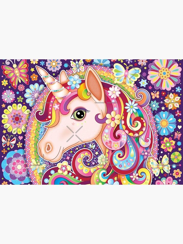 Unicorn Rainbow Art - Colorful Unicorn Art by Thaneeya McArdle by thaneeya