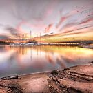 Sunset On Lake Hartwell by Brent Craft