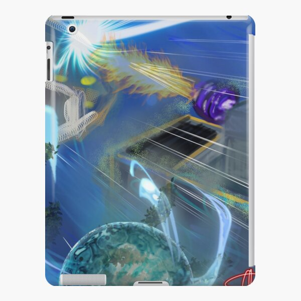DeepSea Battle Tram iPad Snap Case